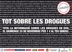 DVD Barcelona InfoDrogas