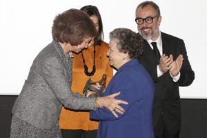 reina María Galiana premio
