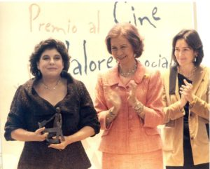 Charo López Premio FAD Cine Valores Sociales