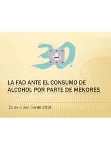 consumo de alcohol fad