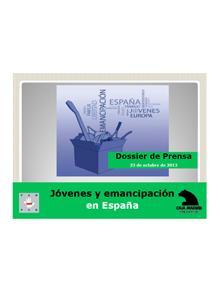 Jovenes y emancipacion en España