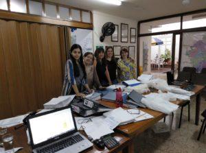 El equipo de Surgir, socio local de Fad, en su oficina de Medellín. Noviembre de 2019.